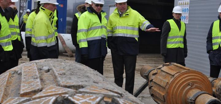 SGD terminalo statybos: kai kurie darbai viršija planą