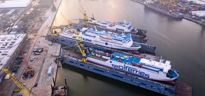 """""""Vakarų laivų gamykloje"""" darbą pradėjo antrasis """"Panamax"""" tipo laivų remontui skirtas dokas"""