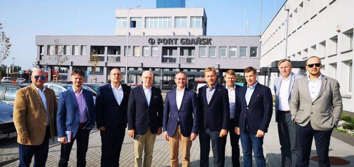 Klaipėdos uosto atstovų vizitas Lenkijos jūrų uostuose