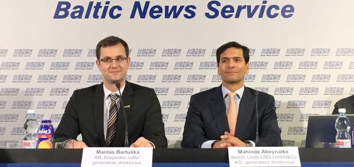 Bomin Linde LNG and Klaipedos Nafta Establish Joint-Venture for LNG Bunker Supply Vessel