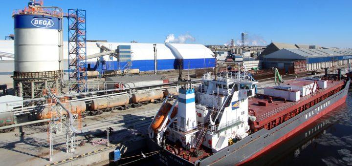Augančiam lietuviško cemento eksportui – naujas intelektualus terminalas Klaipėdos uoste