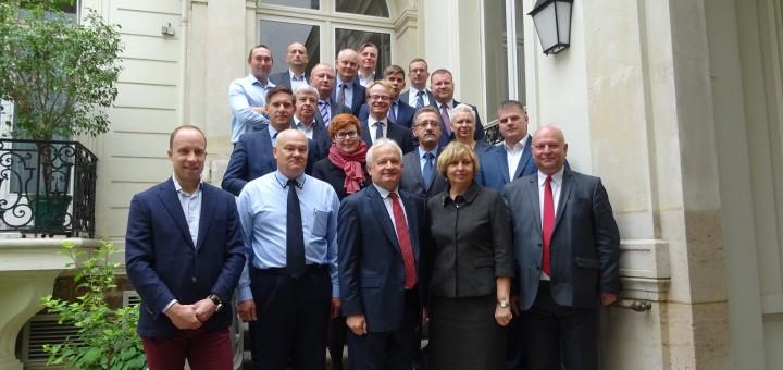 Prancūzijoje lankėsi Lietuvos jūrų krovos kompanijų asociacijos, Klaipėdos valstybinio jūrų uosto ir Klaipėdos savivaldybės administracijos  atstovai
