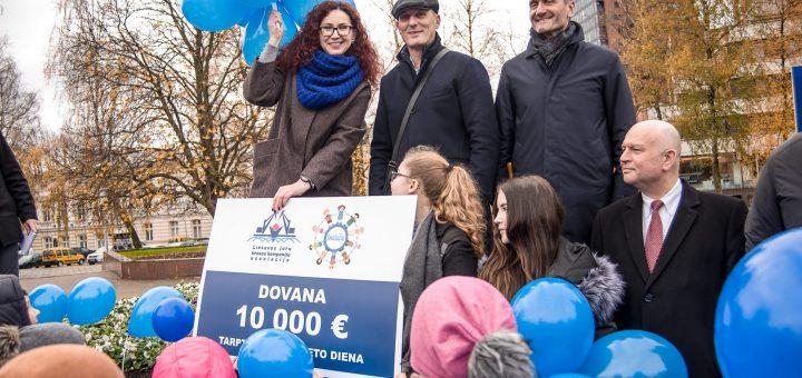 Klaipėdos uosto kompanijos atsigręžė į diabetu sergančius vaikus