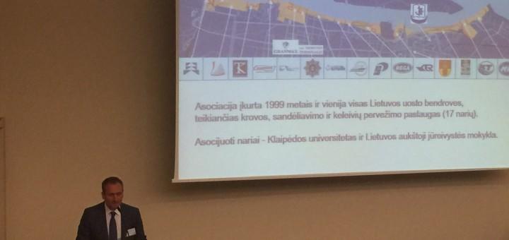 """Tarptautinė mokslinė – praktinė konferencija """"Jūrų uostų plėtros pavyzdžiai. Iššūkiai, tendencijos, pasiekimai"""""""