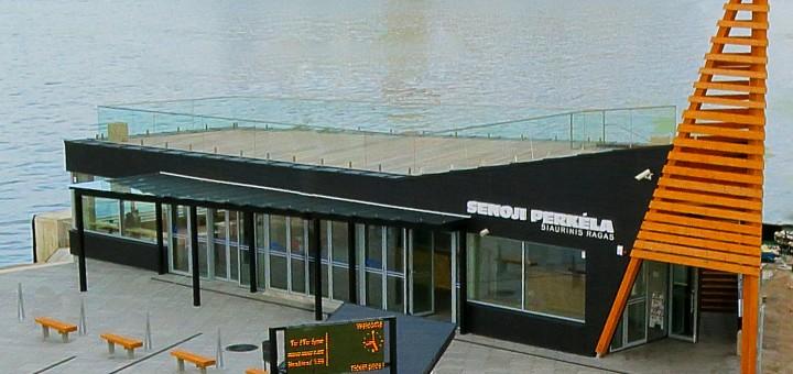 """AB """"Smiltynės perkėla"""" atidarė naują keleivių terminalą"""