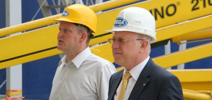 """Jūrų krovinių kompanijoje """"Bega"""" – pareigų perdavimas"""