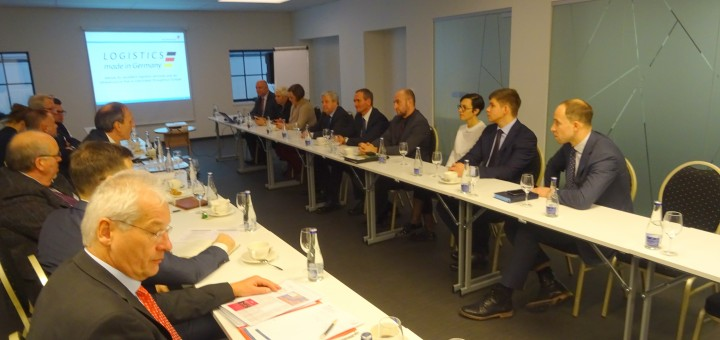 Visit of Logistics Alliance Germany to Association of Lithuanian Stevedoring Companies