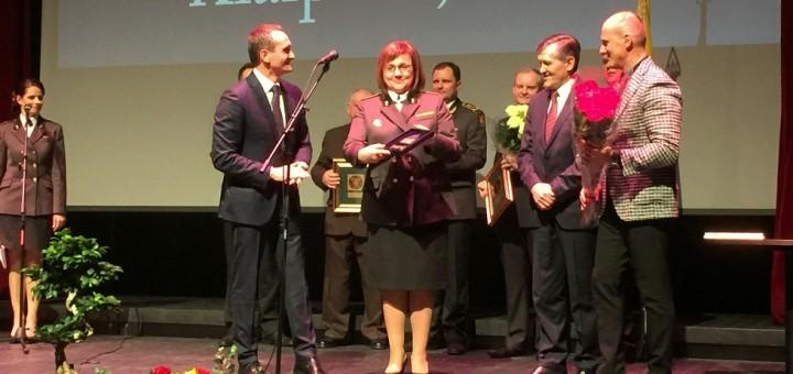 Asociacijos apdovanojimas Klaipėdos teritorinei muitinei