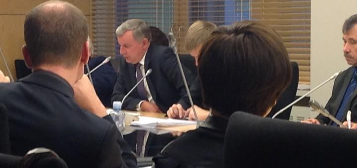 LR Seimo ekonomikos komiteto posėdis