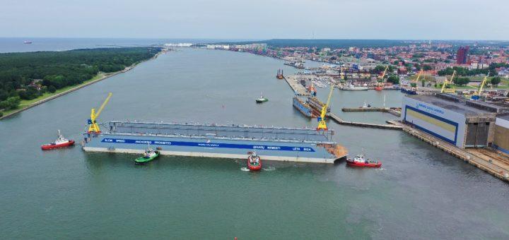 """AB """"Vakarų laivų gamykla"""" įmonių grupė pasiruošusi priimti """"Panamax"""", """"Postpanamax"""" ir """"Aframax""""  tipo laivus"""