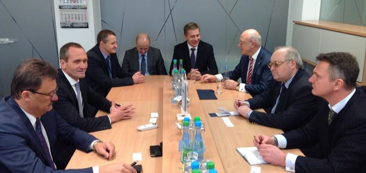 Asociacijoje lankėsi Rusijos Federacijos generalinis konsulas Klaipėdoje