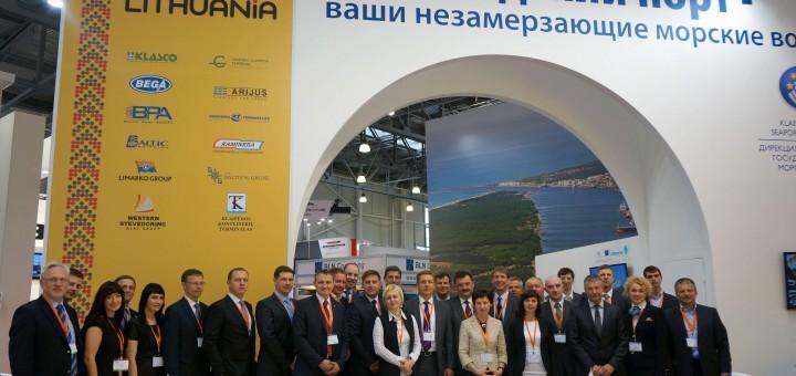 """Asociacija prisistatė parodoje """"TransRussia 2014"""""""