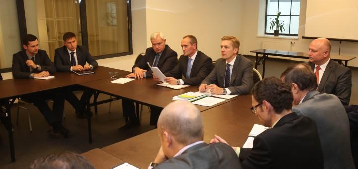 Pasitarimas Lietuvos jūrų krovos kompanijų asociacijoje
