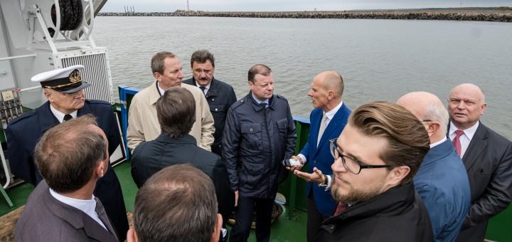 Išoriniame uoste turėtų veikti tarptautiniai operatoriai