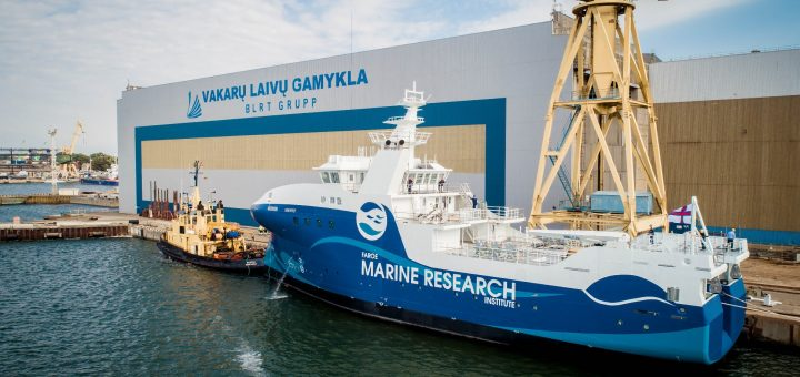 Vakarų Baltijos laivų statykla sėkmingai įgyvendino dar vieną laivų statybos projektą