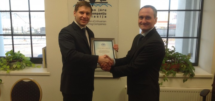 Already the fifteenth stevedoring company has become the member of Association of Lithuanian Stevedoring Companies