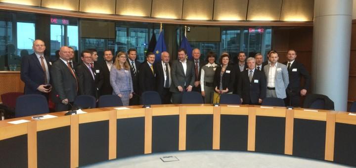 Susitikimas Europos Parlamente